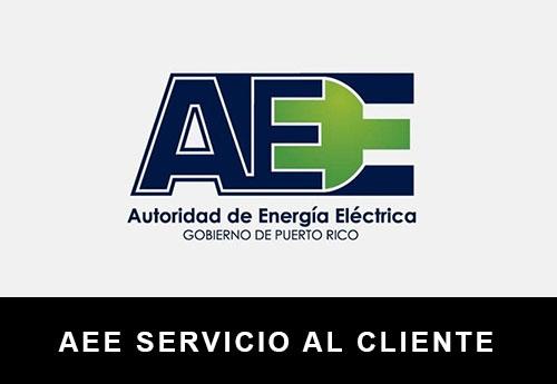Servicio al Cliente de  AEE