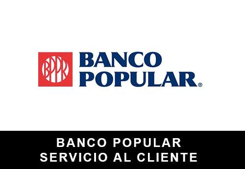 Servicio al Cliente de  Banco Popular