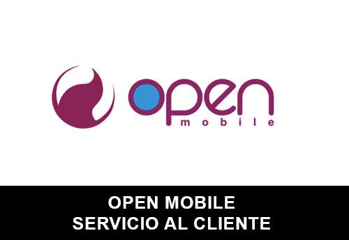 Servicio al Cliente de  Open Mobile