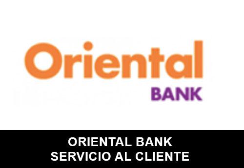 Servicio al Cliente de  Oriental Bank